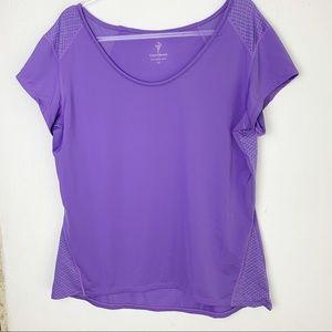 Workout Top Purple Plus size XL